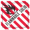 Flammable Solid Label