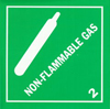 Non-Flammable Gas Label
